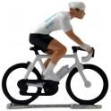 White jersey HD-WB - Miniature cyclists