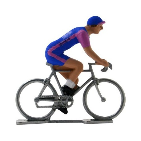 Lampre - Miniature racing cyclists