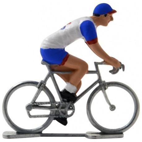Lotto-Domo - Figurines cyclistes miniatures