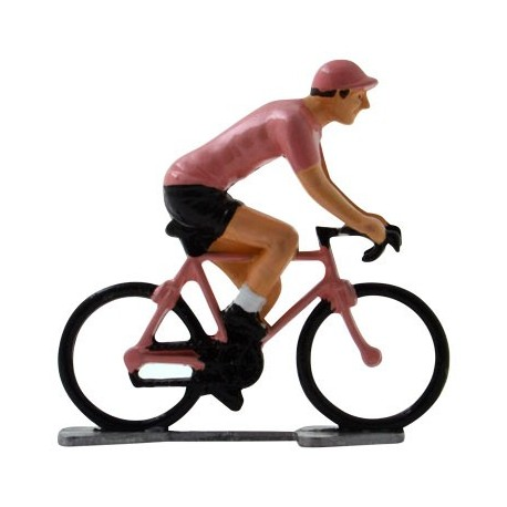 Pink jersey K-WB - Miniature cycling figures