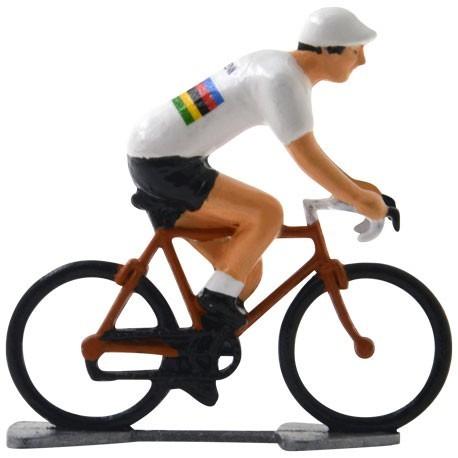 World champion Molteni K-WB - miniature racing cyclists