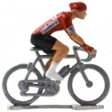 Maillot rouge H - Figurines cyclistes miniatures