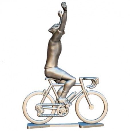 Custom made renner winnaar + wielen HW-W - Miniatuur wielrennertjes
