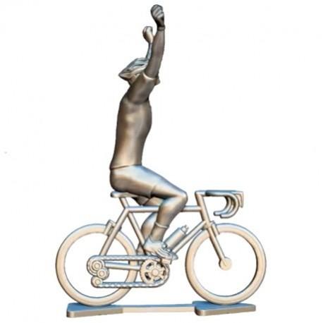 Sur mesure cycliste vainqueur + roues + vélo HW-WB - Cyclistes figurines