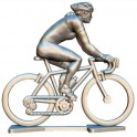 Sur mesure cycliste féminine + roues + vélo HDF-WB - Cyclistes figurines