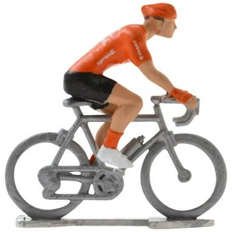 CCC 2020 H - Figurines cyclistes miniatures