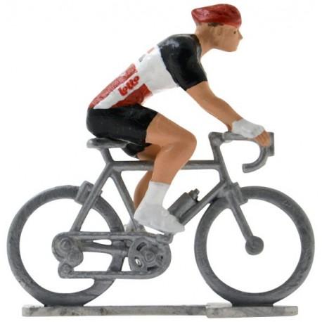 Lotto-Soudal 2020 H - Figurines cyclistes miniatures