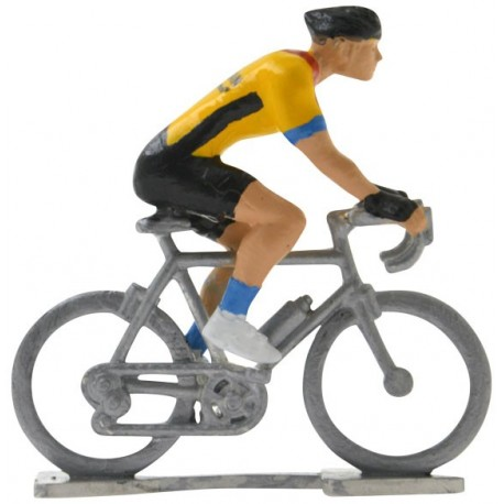 Bahrain-McLaren 2020 H - Figurines cyclistes miniatures