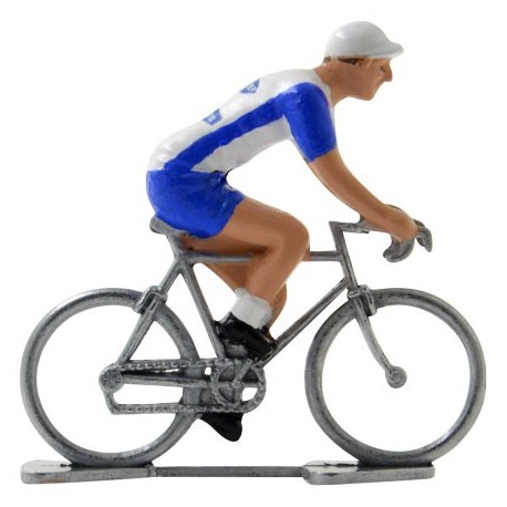 Quickstep-Davitamon - Miniature racing cyclists
