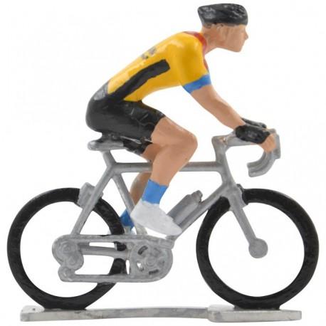 Bahrain-McLaren 2020 H-W - Figurines cyclistes miniatures