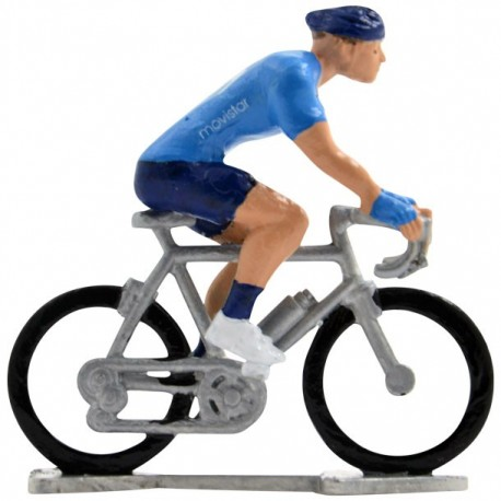 Movistar 2020 H-W - Figurines cyclistes miniatures