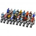 Set Worldtour 2020 H-W - Figurines cyclistes miniatures