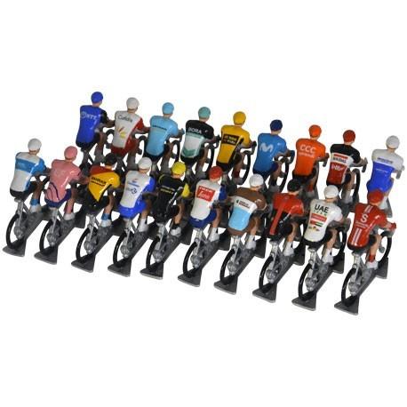 Set Worldtour 2020 H-W - Miniatuur wielrennertjes