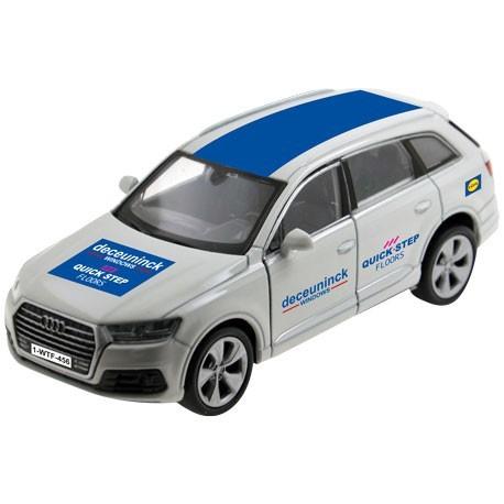 Team car Deceuninck-Quickstep white - Miniature cars