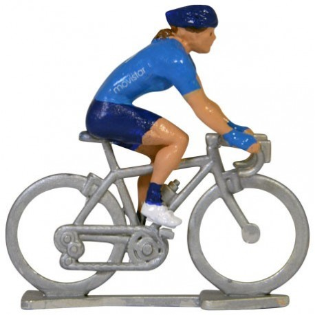 Movistar 2020 HF - Figurines cyclistes miniatures
