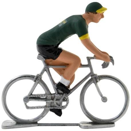 Miniature cycling figures