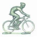 Custom made cyclist N + bike - Miniature cyclists