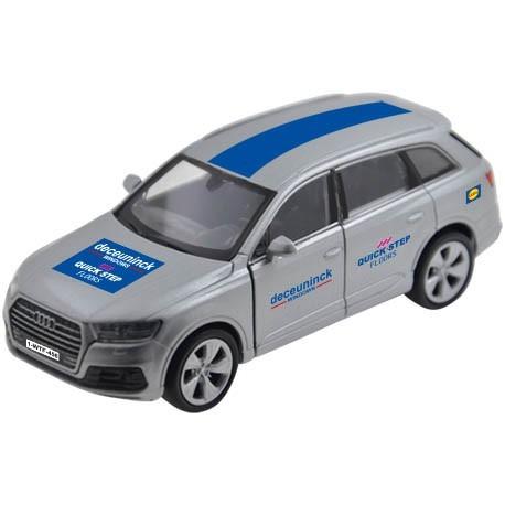 Team car Deceuninck-Quickstep grey - Miniature cars