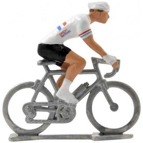 Champion du Royaume Uni H - Cyclistes miniatures
