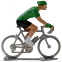 Green jersey H - Miniature cyclists