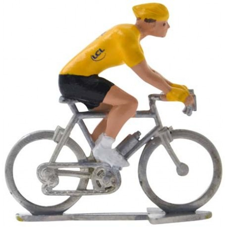 Yellow jersey H - Miniature cyclists