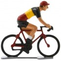 Belgian champion K-WB - Miniature cyclist figurines