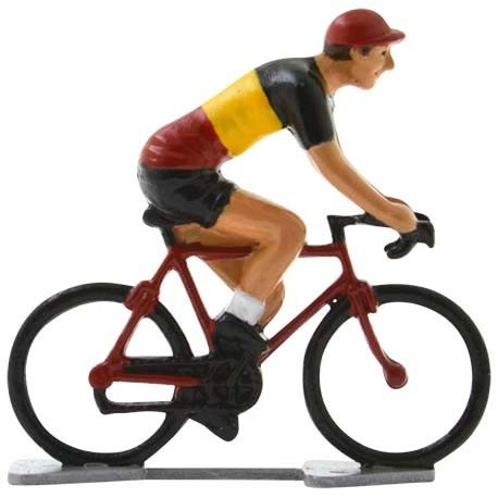 Champion de Belgique K-WB - Cyclistes miniatures