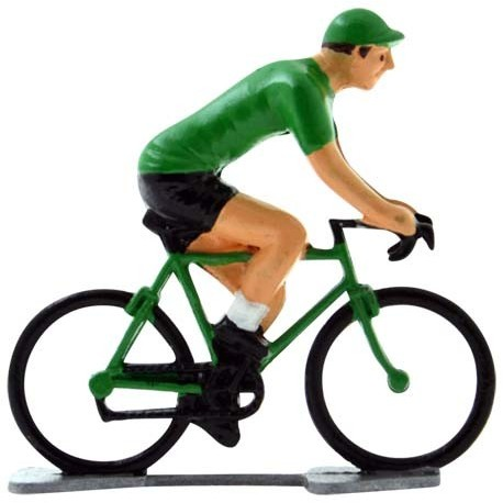 Maillot vert K-WB - Cyclistes figurines