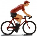 Red jersey K-WB - Miniature cycling figures
