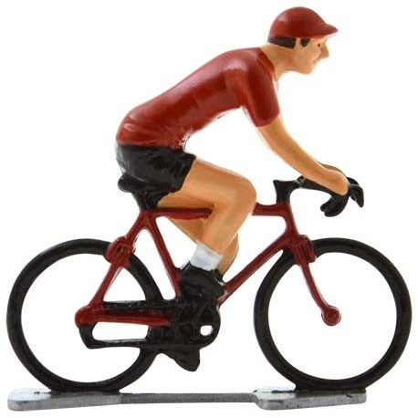 Maillot rouge K-WB - Figurines cyclistes miniatures