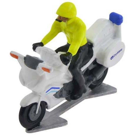 Police motorbike Belgium with driver 2020 - Miniature cyclist figurines