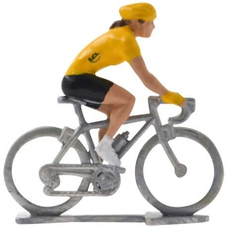 Yellow jersey HDF - Miniature cycling figures