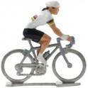 Champion du monde HDF - Figurines cyclistes miniatures