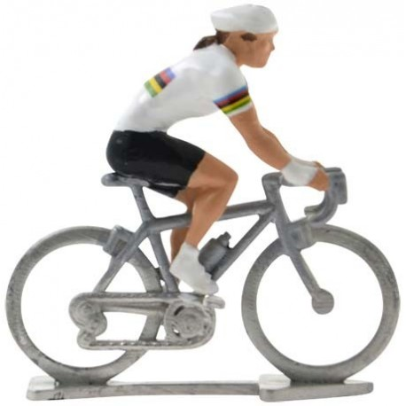 World champion HDF - Miniature cycling figures