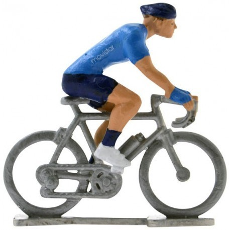 Movistar 2020 H - Figurines cyclistes miniatures
