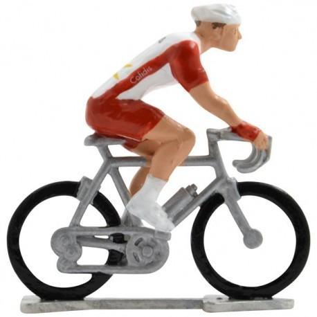 Cofidis 2020 H-W - Figurines cyclistes miniatures