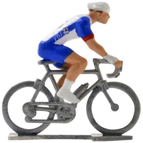 Groupama-FDJ 2020 H - Figurines cyclistes miniatures