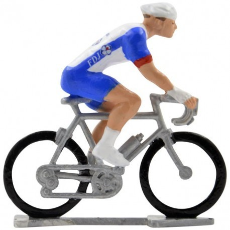 Groupama-FDJ 2020 H-W - Figurines cyclistes miniatures