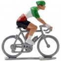Italian champion H - Miniature cyclist figurines