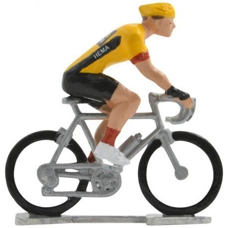 Jumbo-Visma 2020 H-W - Figurines cyclistes miniatures