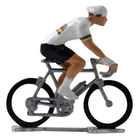 Worldchampion H-W - Miniature cyclist figurines