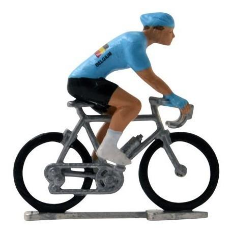 Belgium world championship H-W - Miniature cyclist figurines