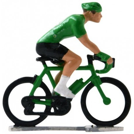 Green jersey H-WB - Miniature cyclists