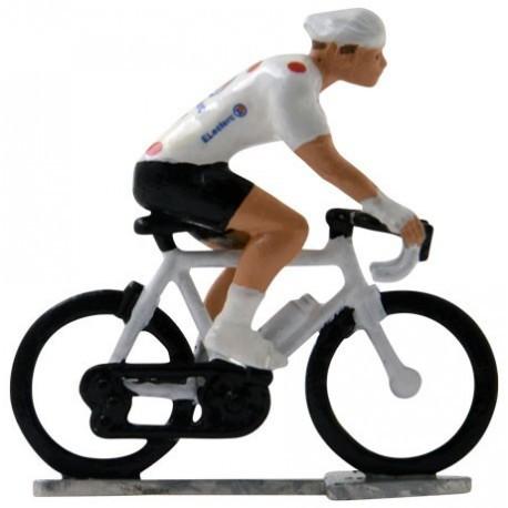 Polka-dot jersey H-WB - Miniature cyclists