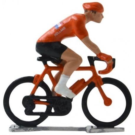 Holland World championship H-WB - Miniature cyclist figurines