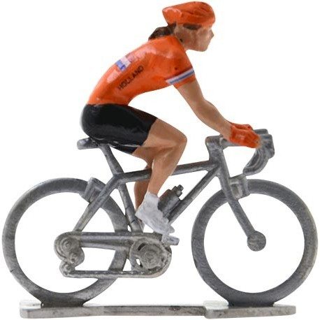 Pays-Bas Championnat du monde HDF - Figurines cyclistes miniatures