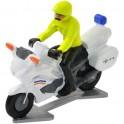 Politiemotor Nederland met bestuurder 2020 - Miniatuur wielrenners