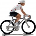 Polka-dot jersey HDF-W - Miniature cycling figures