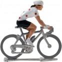 Maillot grimpeur HDF - Figurines cyclistes miniatures