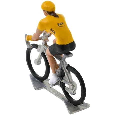 Yellow jersey HDF-W - Miniature cycling figures